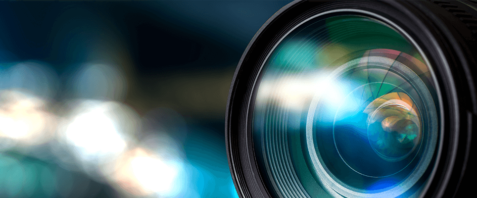 camera lens protected by antismudge coating